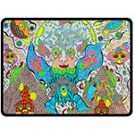 Angel Pyramid Blaster Double Sided Fleece Blanket (Large)