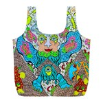 Angel Pyramid Blaster Full Print Recycle Bag (L)