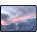 Early Sunset in Maui (Mary Helen Harper-Chase) Fleece Blanket (Extra Large)