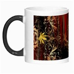 Mary Jane burgundy black and gold bedsheets  Morph Mugs