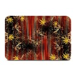 Mary Jane burgundy black and gold bedsheets  Plate Mats
