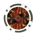 Mary Jane burgundy black and gold bedsheets  Poker Chip Card Guard