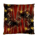 Mary Jane burgundy black and gold bedsheets  Standard Cushion Case (One Side)