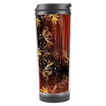 Mary Jane burgundy black and gold bedsheets  Travel Tumbler