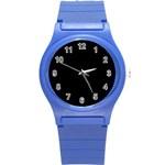 Define Black Round Plastic Sport Watch (S)