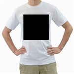 Define Black Men s T-Shirt (White)