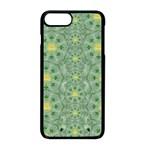 Summer Fantasy Apple Bloom In Seasonal Nature Apple iPhone 8 Plus Seamless Case (Black)