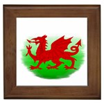 Welsh Dragon Wales Framed Tile