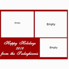 Christmas Cards 2018 Final 7 By Hassan Sadaghiani   5  X 7  Photo Cards   0a48vlul5lcr   Www Artscow Com 7 x5  Photo Card - 4