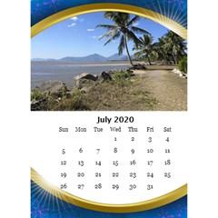 Jane Desktop Calendar With Class In Blue (6x8 5) By Deborah   Desktop Calendar 6  X 8 5    Mwhy9s74r32q   Www Artscow Com Jul 2019