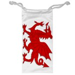 Welsh Dragon Wales Jewelry Bag