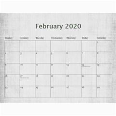 Macvittie Family Calendar 2019 Rachel Again By Debra Macv   Wall Calendar 11  X 8 5  (18 Months)   9aanfbvg5ehc   Www Artscow Com Feb 2020