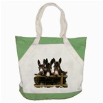Three donks Accent Tote Bag