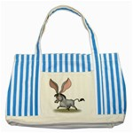 Big ears Striped Blue Tote Bag