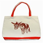 Donkey Classic Tote Bag (Red)