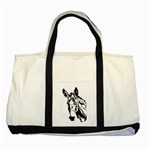 Donkey head Two Tone Tote Bag
