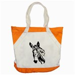 Donkey head Accent Tote Bag