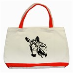 Donkey head Classic Tote Bag (Red)