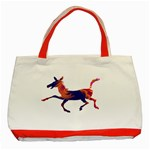 Funny Donkey Classic Tote Bag (Red)