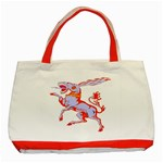 Herald Donkey Classic Tote Bag (Red)