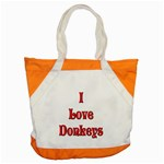 Love Donks Accent Tote Bag