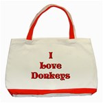 Love Donks Classic Tote Bag (Red)