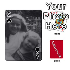 Cansta Cards1 By Karen Van   Playing Cards 54 Designs (rectangle)   B7s2q4lsrjkb   Www Artscow Com Front - Spade2
