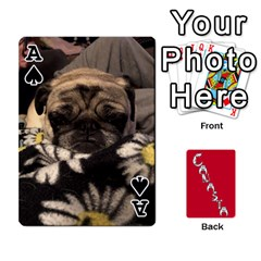 Ace Cansta Cards1 By Karen Van   Playing Cards 54 Designs (rectangle)   B7s2q4lsrjkb   Www Artscow Com Front - SpadeA