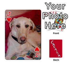 Jack Cansta Cards1 By Karen Van   Playing Cards 54 Designs (rectangle)   B7s2q4lsrjkb   Www Artscow Com Front - HeartJ