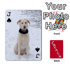 Jack Cansta Cards1 By Karen Van   Playing Cards 54 Designs (rectangle)   B7s2q4lsrjkb   Www Artscow Com Front - SpadeJ