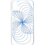 Spirograph Pattern Drawing Apple iPhone XS Seamless Case (White)
