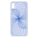 Spirograph Pattern Drawing Apple iPhone XS Max Seamless Case (White)