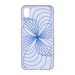 Spirograph Pattern Drawing Apple iPhone XR Seamless Case (White)