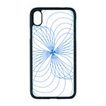 Spirograph Pattern Drawing Apple iPhone XR Seamless Case (Black)
