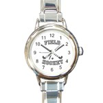 FIELD HOCKEY ROUND ITALIAN CHARM WATCH