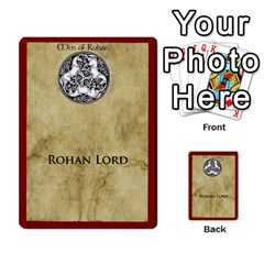 Dux Arda: Rohan, Isengard, Generic Fate Cards (minus Desperare) By Gunnar Lopez Front 15