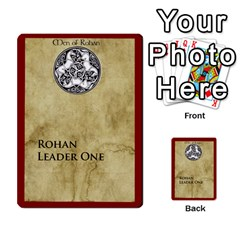 Dux Arda: Rohan, Isengard, Generic Fate Cards (minus Desperare) By Gunnar Lopez Front 16