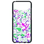 Sketchlines02 Samsung Galaxy S8 Black Seamless Case