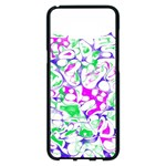 Sketchlines02 Samsung Galaxy S8 Plus Black Seamless Case