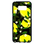 black lemons Samsung Galaxy S8 Plus Black Seamless Case