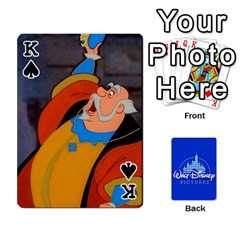 King Cartes Disney Classique By Panicalltime Front - SpadeK