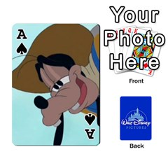 Ace Cartes Disney Classique By Panicalltime Front - SpadeA