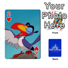 Cartes Disney Classique By Panicalltime Front - Heart2