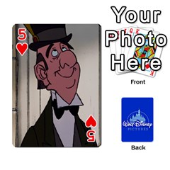 Cartes Disney Classique By Panicalltime Front - Heart5