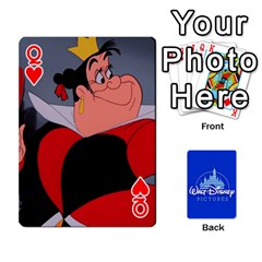 Queen Cartes Disney Classique By Panicalltime Front - HeartQ
