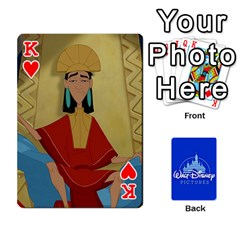 King Cartes Disney Classique By Panicalltime Front - HeartK
