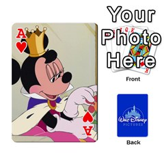 Ace Cartes Disney Classique By Panicalltime Front - HeartA