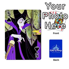 Cartes Disney Classique By Panicalltime Front - Spade5