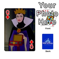 Queen Cartes Disney Classique By Panicalltime Front - DiamondQ