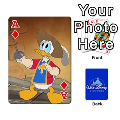 Ace Cartes Disney Classique By Panicalltime Front - DiamondA